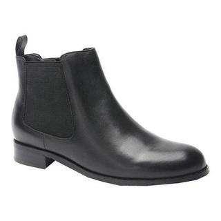Women's Ros Hommerson Bridget Bootie Black Leather