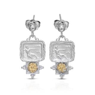 Tagliamonte Gold over Silver Earrings
