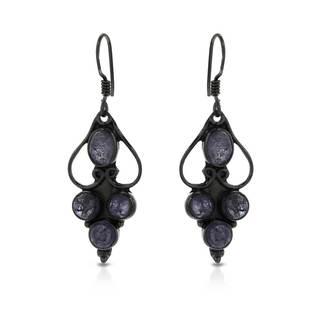 Sterling Silver 5/8ct TW Tanzanite Earrings