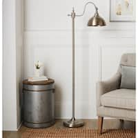 Edward 64-Inch Brushed Nickel Floor Lamp