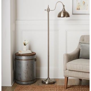 Edward 64-Inch Brushed Nickel Floor Lamp