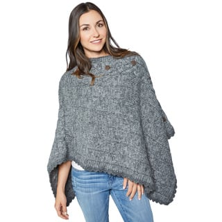 Laundromat Women's Veronique Wool Poncho|https://ak1.ostkcdn.com/images/products/12202637/P19049785.jpg?impolicy=medium
