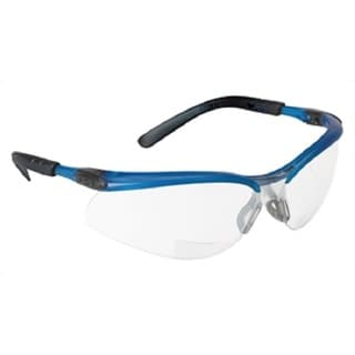 BX I and O Mirror-lens Reader Safety Glasses with 2.5 Diopter