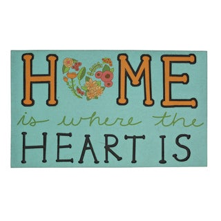 """Mohawk Home Doorscapes Where The Heart Is (1'6"""" x 2'6"""")"""