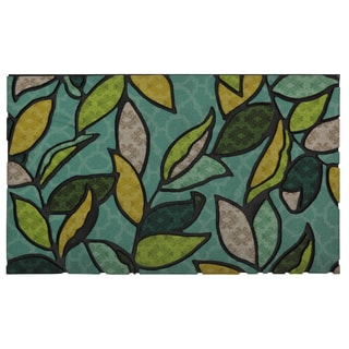 """Mohawk Home Doorscapes Swaying Leaves (1'6"""" x 2'6"""")"""