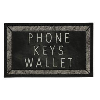 Mohawk Home Doorscapes Keys Phone Wallet Check (1'6 x 2'6)