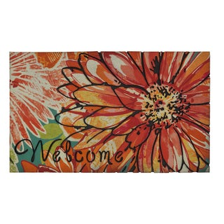 """Mohawk Home Doorscapes Charmed Floral Welcome (1'6"""" x 2'6"""")"""
