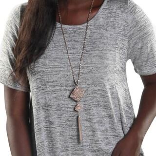 Hadari Women Short Sleeve Round Neck Shirt