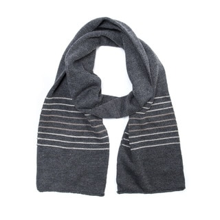 Muk Luks Men's Acrylic Striped Scarf