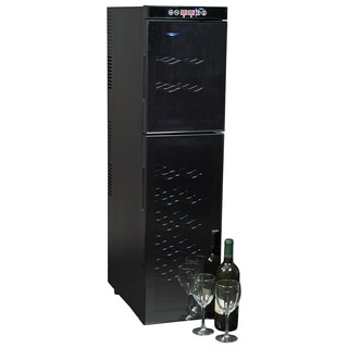 Koolatron 18-bottle Black Dual Zone Wine Cooler