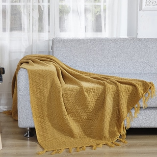 De Moocci Decorative Knitted Throw