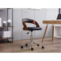 Porthos Home Sibley Two-tone Upholstered Adjustable Office Chair