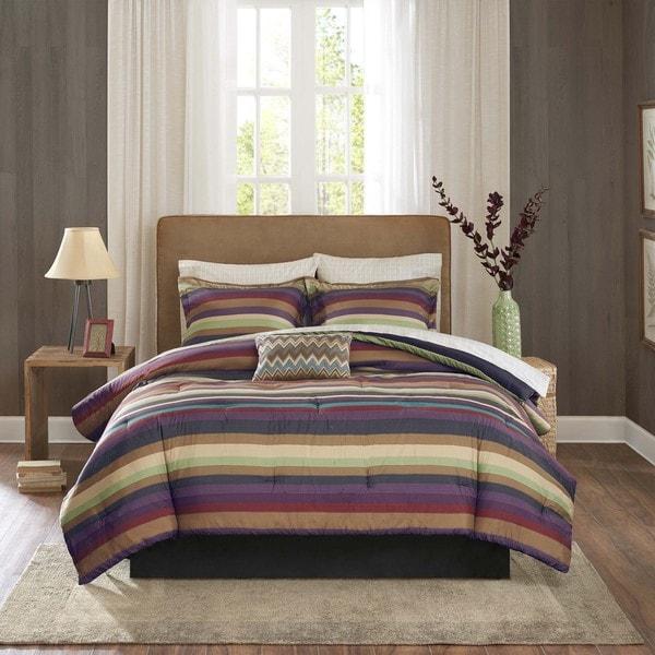 Madison Park Essentials Phoenix Complete Comforter and Cotton Sheet Set