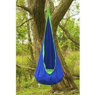 Sorbus Hammock Pod Blue Kids' Swing / Chair Nook