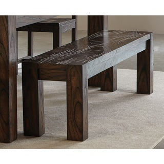Calabasas Collection Brown Wood Bench