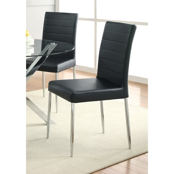 Coaster Company Black Dining Chair Set Of 4 Overstock 12203060