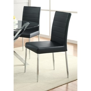 Coaster Company Black Side Chair (Set of 4)