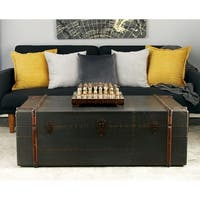 Wood Coffee Table (48 inches wide x 17 inches high)