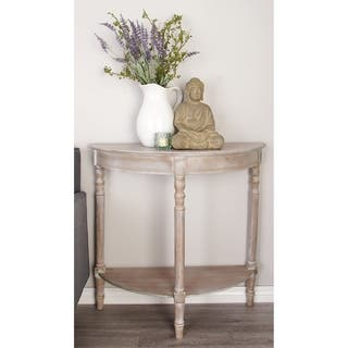 Round Entryway Table For Less Overstock Com