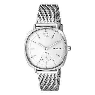 Skagen Women's SKW2402 Rungsted Silver Stainless Steel Mesh Watch