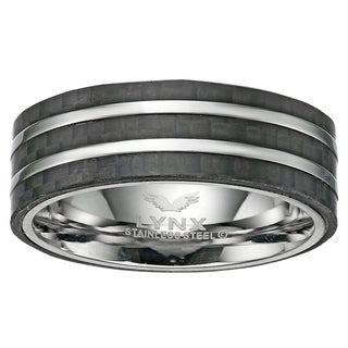 Stainless Steel Carbon Fiber Ring