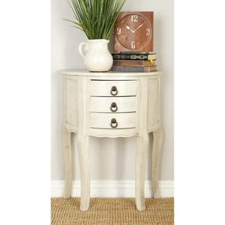 Wood Distressed Accent Table (22 inches wide x 28 inches high)