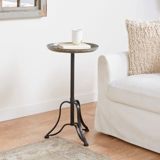 Metal Tray Table (15 inches wide x 27 inches high)