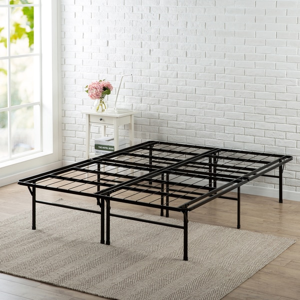 Priage by Zinus 16 inch SmartBase Deluxe Queen Mattress Foundation. Opens flyout.