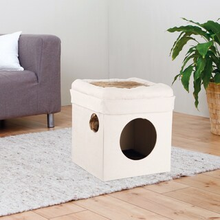 Trixie Miguel 'Fold-and-Store' Collapsible Cat House & Condo