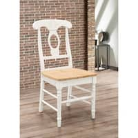 Coaster Company Damen Country Dining Chair (Set of 2), Natural/White
