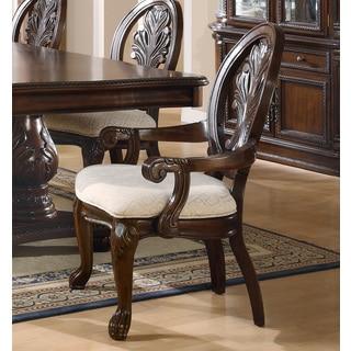 Brown Cherry Arm Chair