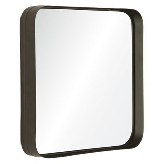 Deja Vu Silver Framed Square Wall Mirror