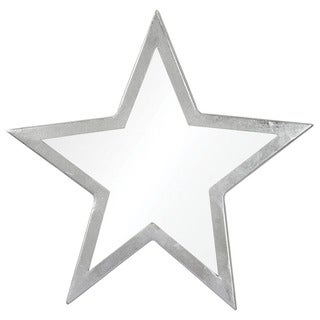 Silver Star III Framed Specialty Wall Mirror