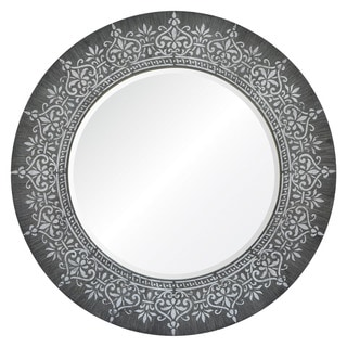 Garlenda Framed Round Wall Mirror