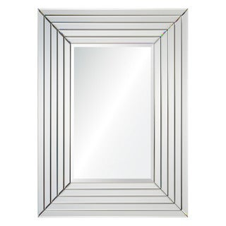 Constance Framed Silver-colored Rectangular Wall Mirror