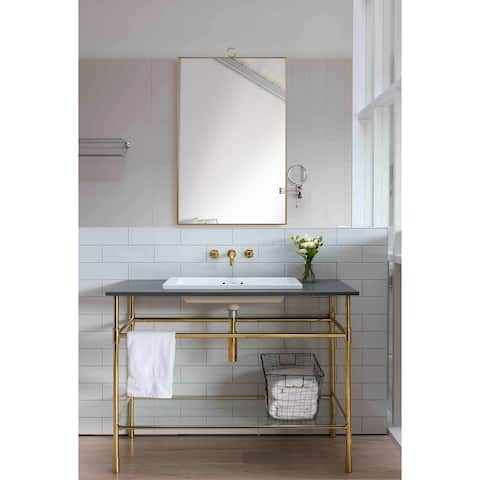 Mendavia Framed Rectangular Wall Mirror