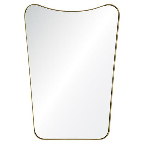 Carson Carrington Ugglebo Framed Rectangular Wall Mirror