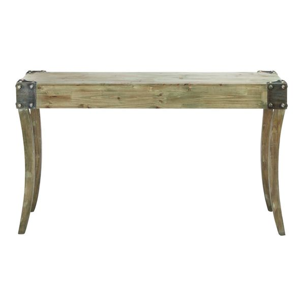 Wood console table 54 inches wide x 32 inches high for 24 wide console table