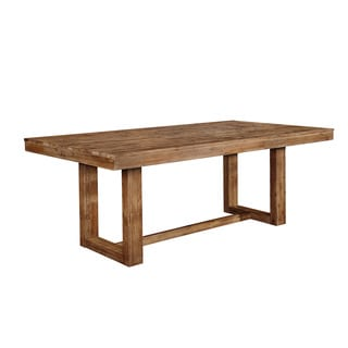 Weathered Wood Dining Table
