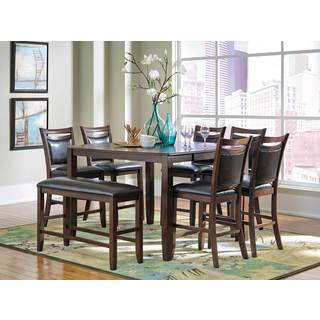 Coaster Company Cherry Finish Counter Height Dining Table