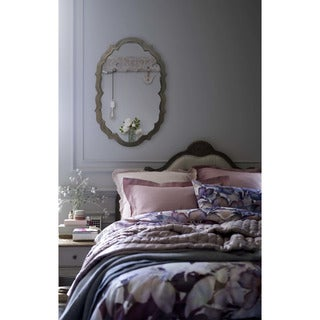 Prima Donna Framed Oval Wall Mirror