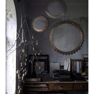 Chapita I Framed Round Wall Mirror