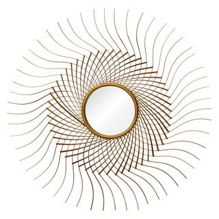 Tattie Framed Round Wall Mirror