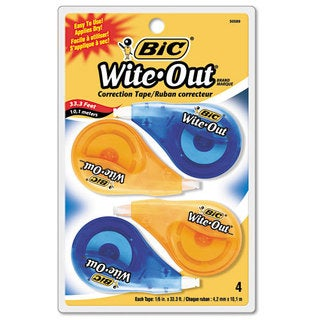 BIC Wite-Out Non-Refillable Correction Tape