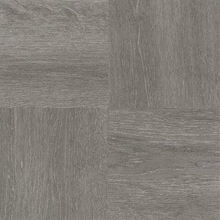 Achim Nexus Charcoal Grey Wood 12x12 Self Adhesive Vinyl Floor Tile - 20 Tiles/20 sq. ft.