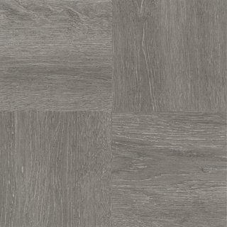 Achim Nexus Charcoal Grey Wood Adhesive Vinyl Floor Tile (Set of 20)