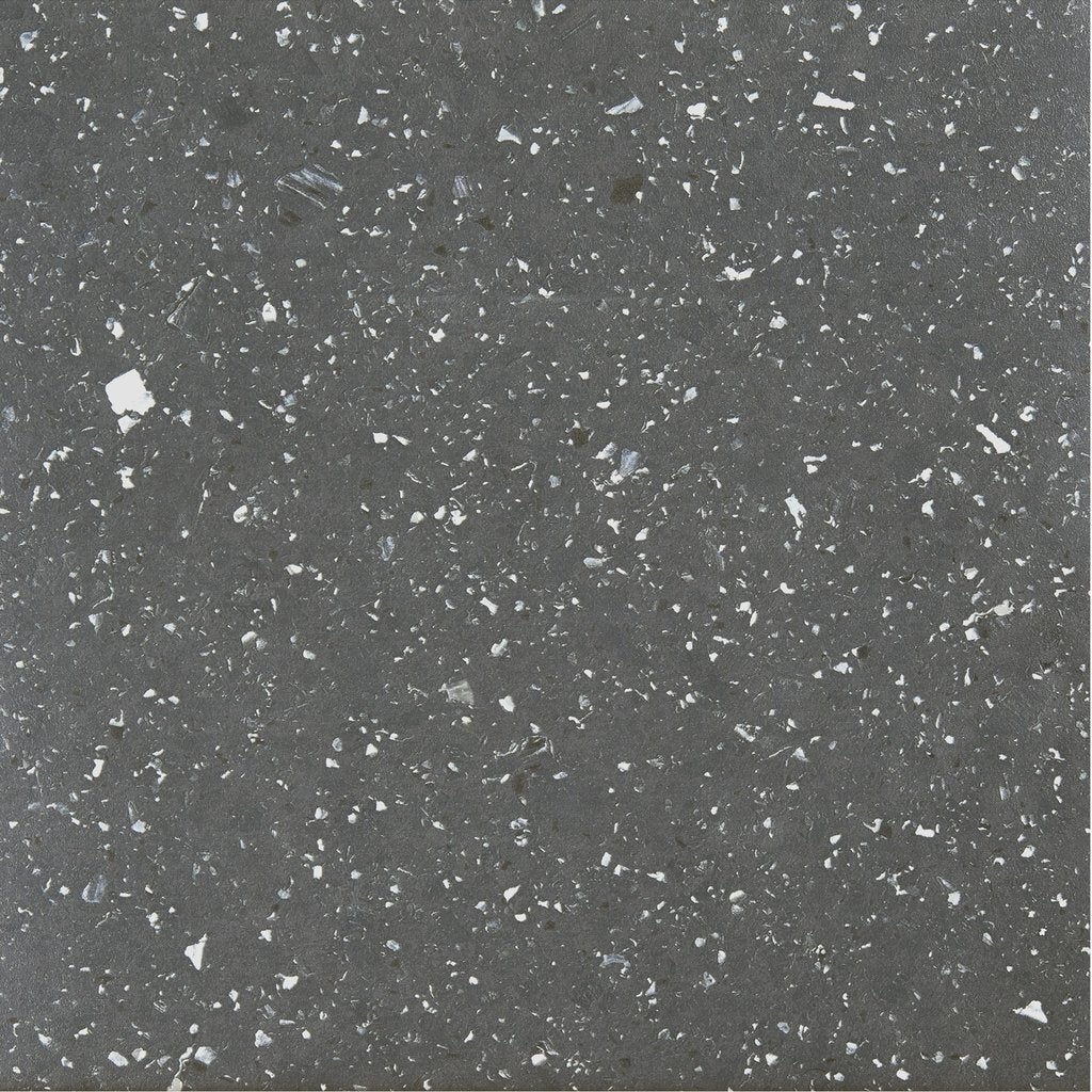 Achim Sterling Black Speckled Granite 12-inch x 12-inch S...