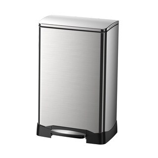 NEO Cube Stainless Steel 40-liter Trash Can