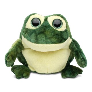 Puzzled Frog Super Soft Plush