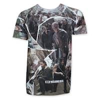 Men's Sublimated-panel Walking Dead T-shirt